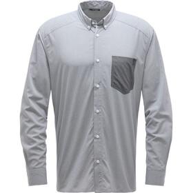 Haglöfs Vejan Langærmet T-shirt Herrer, grå